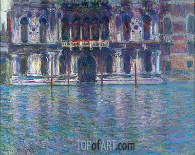 Palazzo Contarini, 1908 | Monet | Painting Reproduction
