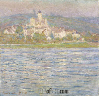 Vetheuil, Grey Effect, 1901 | Monet| Painting Reproduction
