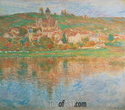 Vetheuil, 1901 | Monet | Painting Reproduction