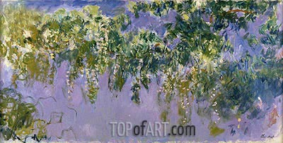 Wisteria, c.1917/20 | Monet| Painting Reproduction