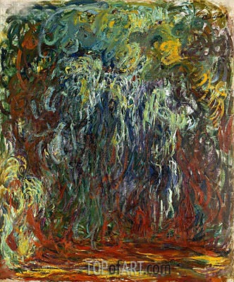 Weeping Willow, Giverny, c.1920/22 | Monet | Painting Reproduction