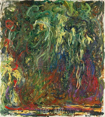 Weeping Willow, c.1920/22 | Monet | Painting Reproduction