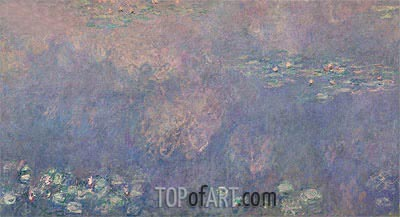 Nympheas (The Two Willows) Part 2, c.1920/26 | Monet | Painting Reproduction