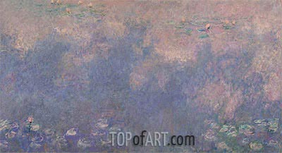 Nympheas (The Two Willows) Part 3, c.1920/26 | Monet| Painting Reproduction