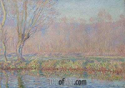 Willow, 1885 | Monet | Painting Reproduction