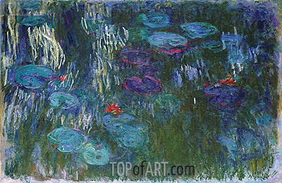Water Lilies, c.1916/19 | Monet| Painting Reproduction
