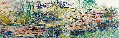 Water Lilies, c.1917/19 | Monet | Painting Reproduction