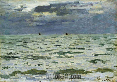 Marine, Le Hvre, 1866 | Monet | Painting Reproduction