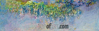 Wisteria, c.1919/20 | Monet | Painting Reproduction