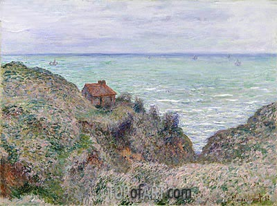 Cabin of the Customs Watch, 1882 | Monet | Painting Reproduction