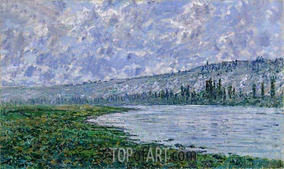 The Seine at Vetheuil, 1880 | Monet| Painting Reproduction