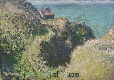 Gorge of the Petit Ailly, Varengeville, 1897 | Monet | Painting Reproduction