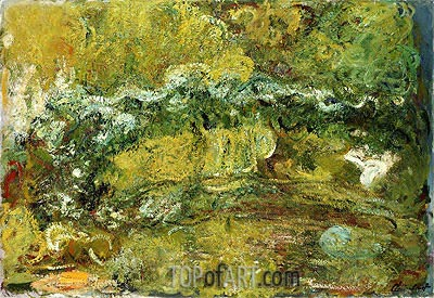 The Japanese Bridge, c.1918/24 | Monet| Painting Reproduction