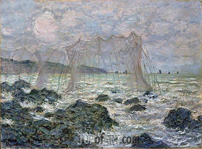 The Nets, 1882 | Monet| Painting Reproduction