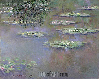 Water Lilies, 1903 | Monet | Painting Reproduction