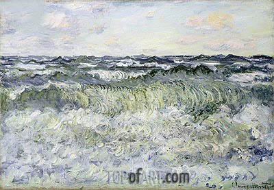 Seascape, 1881 | Monet| Painting Reproduction