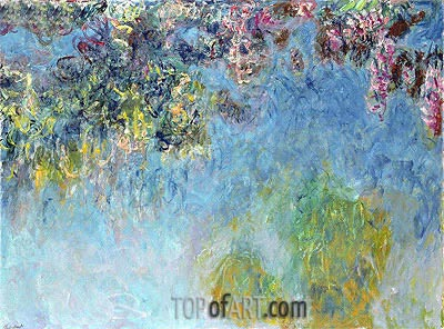 Wisteria, c.1920/25 | Monet| Painting Reproduction