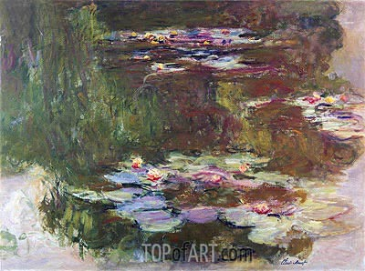 Lily Pond, 1881 | Monet| Painting Reproduction
