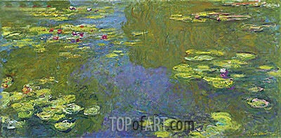 The Lily Pond, 1919 | Monet| Painting Reproduction