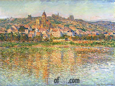 Vetheuil in Summertime, 1879 | Monet | Painting Reproduction