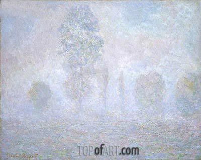 Morning Haze, 1888 | Monet| Painting Reproduction