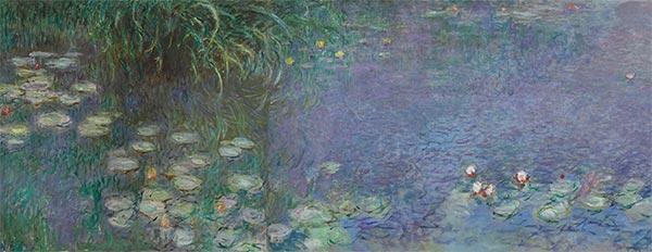 Monet | Nympheas - Morning (Detail), c.1920/26