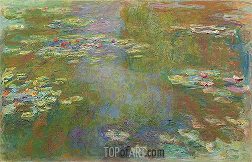 Monet | Water Lily Pond, c.1917/19