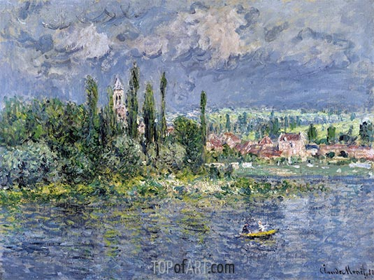 Vetheuil, 1880 | Monet | Painting Reproduction