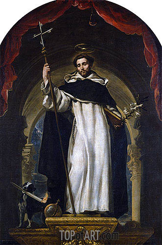 Claudio Coello | Saint Dominic of Guzman, c.1685