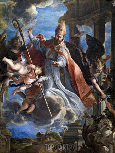 Claudio Coello | The Triumph of Saint Augustine, 1664
