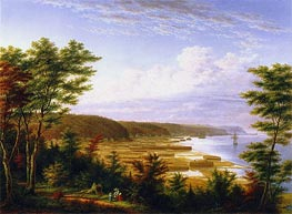 Sillery Cove, Quebec | Cornelius Krieghoff | Painting Reproduction