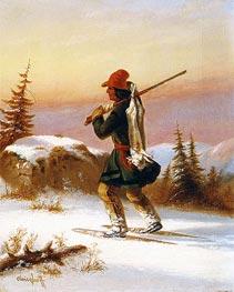 A Lorette Indian | Cornelius Krieghoff | Gemälde Reproduktion