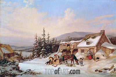 Cornelius Krieghoff | Quebec, 1858
