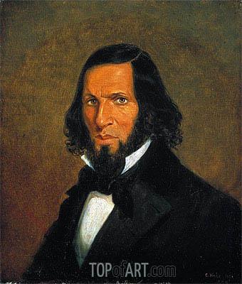 Cornelius Krieghoff | Self-Portrait, 1855
