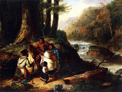 Cornelius Krieghoff | The Trader, 1850