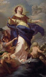 The Immaculate Conception, undated by Corrado Giaquinto | Painting Reproduction