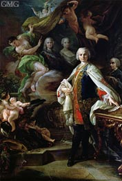 Portrait of Carlo Broschi - Il Farinelli, c.1746 by Corrado Giaquinto | Painting Reproduction