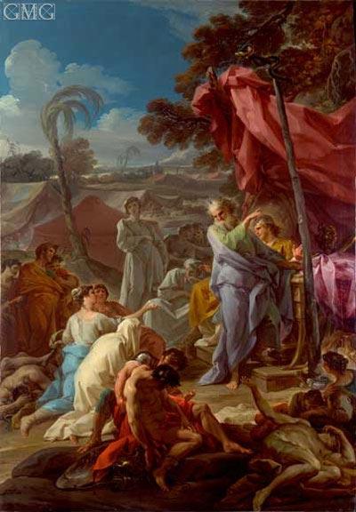 Corrado Giaquinto | The Brazen Serpent, c.1743/44