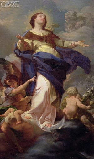 The Immaculate Conception, undated | Corrado Giaquinto | Painting Reproduction