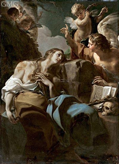 Corrado Giaquinto | The Penitent Magdalene, c.1740/50