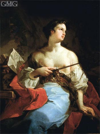 Sibyl (La Maga), undated | Corrado Giaquinto | Painting Reproduction