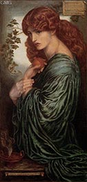 Proserpine, c.1881/82 by Rossetti | Painting Reproduction