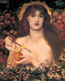 Venus Verticordia, c.1864/68 by Rossetti | Painting Reproduction
