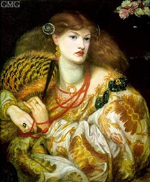 Monna Vanna | Rossetti | Painting Reproduction