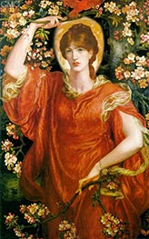 A Vision of Fiammetta, 1878 by Rossetti | Painting Reproduction