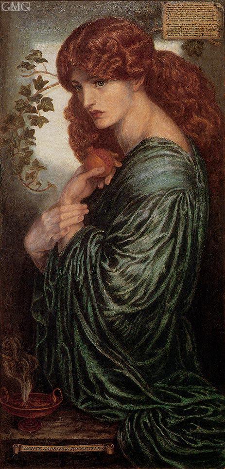 Rossetti | Proserpine, c.1881/82