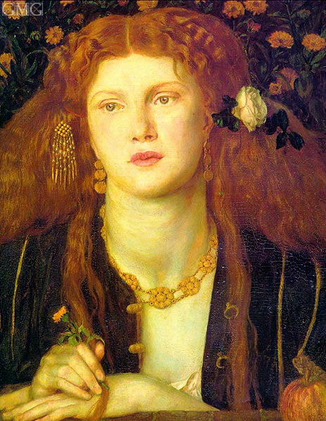 Rossetti | Bocca Baciata (The Kissed Mouth), 1859