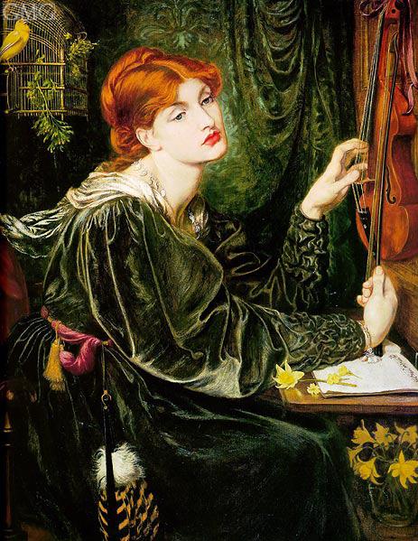 Rossetti | Veronica Veronese, 1872