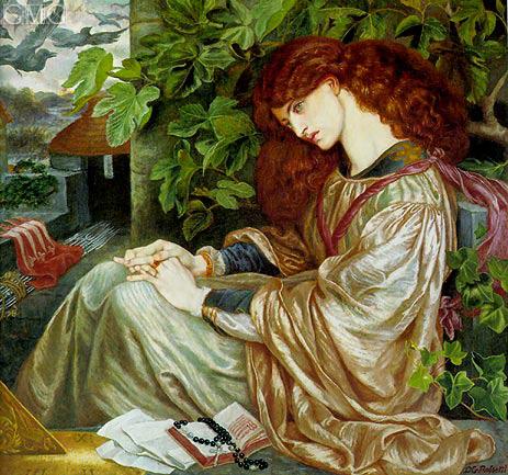 Rossetti | La Pia de' Tolomei, c.1868/80