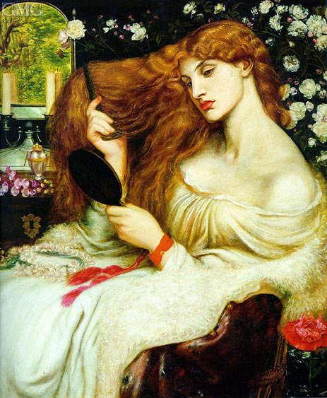 Rossetti | Lady Lilith, 1868